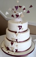 fascinating-heart-wedding-cake-ideas